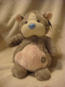 Carte Blanche Blue Nose Friend  8inch Hamster Peanuts.